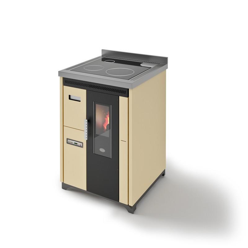 Cuisinière à granules ventilée - EVACALOR Nina 7.5 Kw