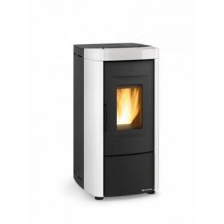 Poêle à granules ventilé débrayable céramique étanche - EXTRAFLAME Moira Evo 8 kW