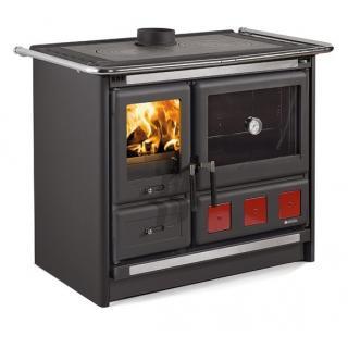 Cuisinière à bois revêtement acier émaillé - NORDICA Rosa XXL 10 kW