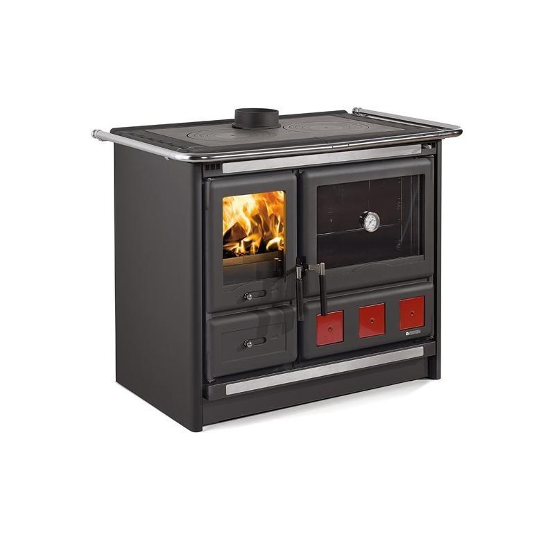 Cuisinière à bois en acier émaillé - NORDICA Rosa XXL 10 kW