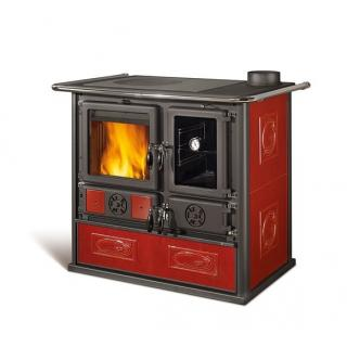 Cuisinière à bois revêtement faïence - NORDICA Rosa Reverse 10 kW
