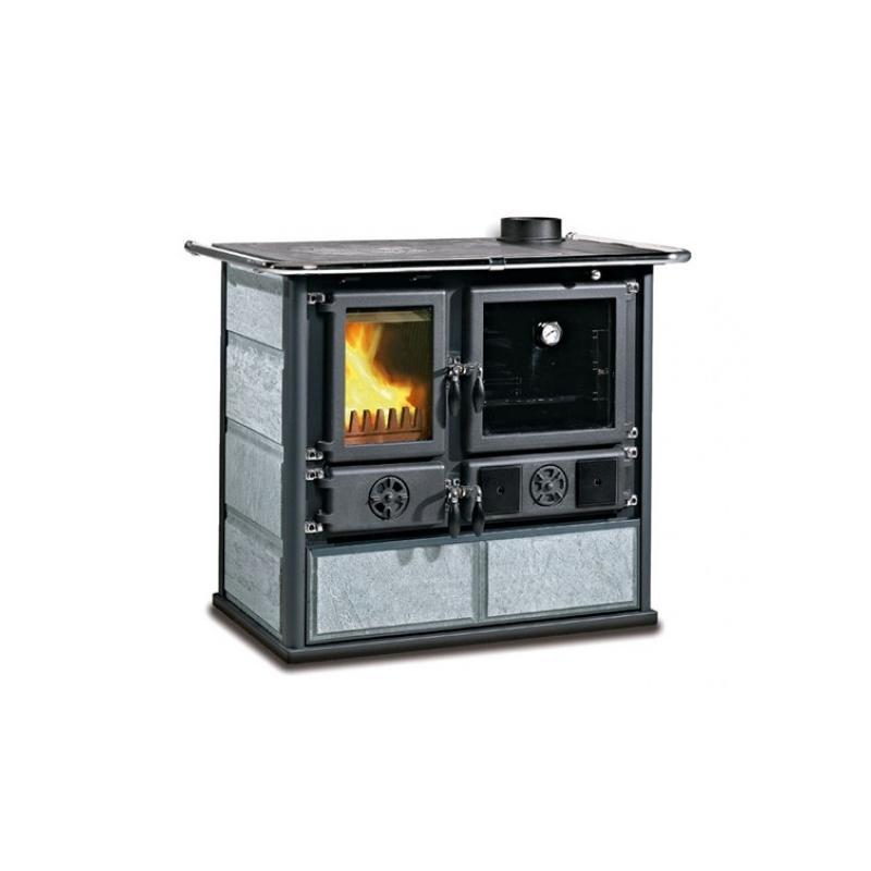 Cuisinière à bois en pierre naturelle - LA NORDICA Rosa 4.0 Pierre 9.5 kW