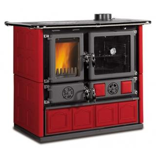 Cuisinière à bois en faïence - NORDICA Rosa 4.0 Maiolica 9.5 kW