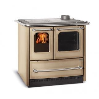 Cuisinière à bois revêtement en fonte émaillé - NORDICA Sovrana Easy Evo  8.3 kw