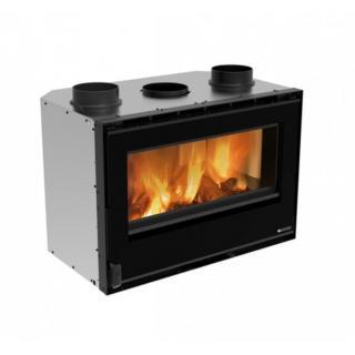 Insert à bois ventilé - NORDICA Inserto 80 Crystal Evo 2.0 Ventilato 8,8 kW