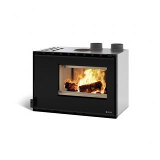 Insert à bois ventilé - NORDICA Inserto 80 High Pressure 9,6 kW