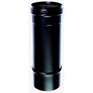 Elément droit 1 m acier noir