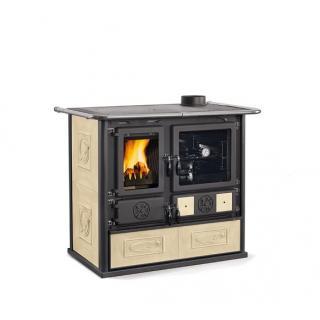 Cuisinière à bois en faïence - NORDICA Rosa 4.0 Liberty 9.5 kW