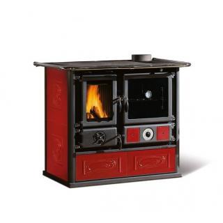 Thermo cuisinière à bois avec revêtement en faïence - NORDICA TermoRosa DSA 19 kW