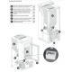 Poêle à granules ventilé - EXTRAFLAME Ketty EVO 7 kw