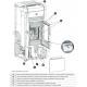 Poêle à granules ventilé étanche céramique -EXTRAFLAME Angela 8 kW