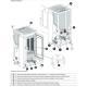 Poêle à granules ventilé canalisable - EXTRAFLAME Dahiana Plus 10 kW