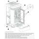Poêle à granules ventilé céramique - EXTRAFLAME Lucia 12 kW