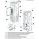 Poêle à granules ventilé étanche - EXTRAFLAME Debby CX 9 kW Pierre Ollaire