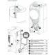 Poêle à granules thermo hydraulique - EXTRAFLAME Raffaella Idro 2.0 19 kW