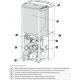 Poêle à granules étanche canalisable céramique - EXTRAFLAME Terry Plus 12 kW