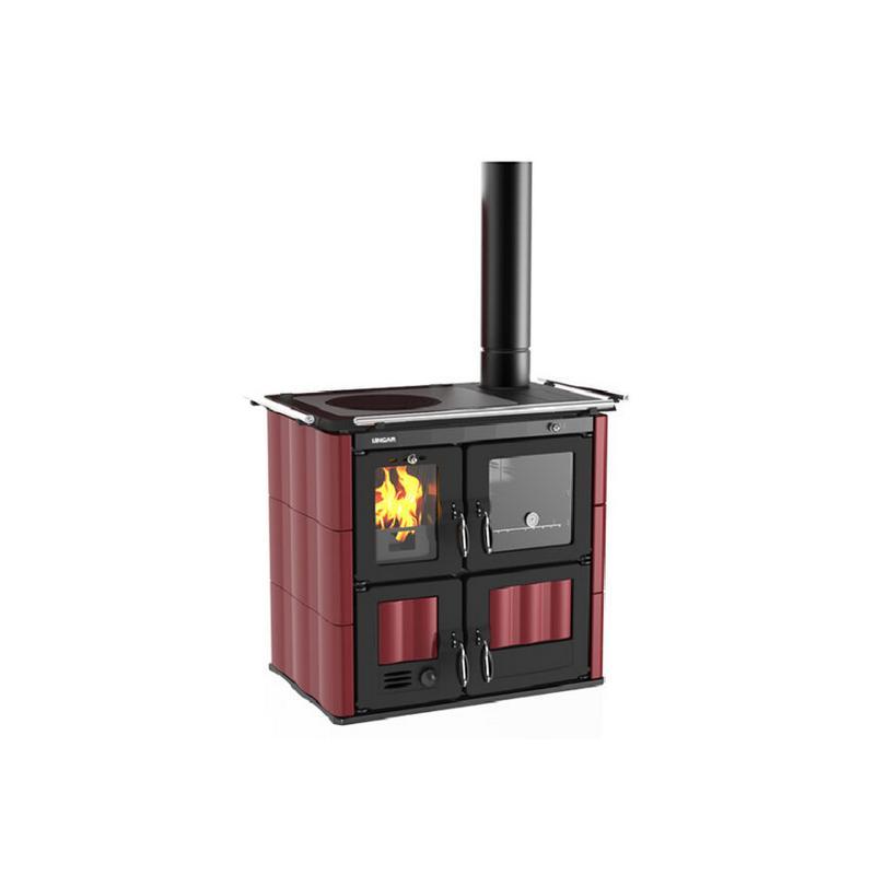 Cuisinière à bois en céramique - LINCAR Bea 702A GL 8.5 kW