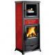 Thermo poêle à bois avec four - LA NORDICA TermoRossella Plus Forno DSA 4.0 12.5 kW