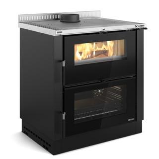 Cuisinière à bois encastrable - NORDICA Verona XXL 8 kW
