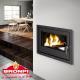 Insert à bois chauffage central - HydroBronpi 80-E 27 kW