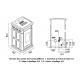 Poêle à granules hydraulique - EVACALOR Venere 12.5 kW