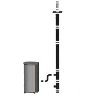 Kit vertical inférieur 80/125 mm DINAK