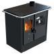 Cuisinière à bois en acier  - LINCAR Nada 9 kW