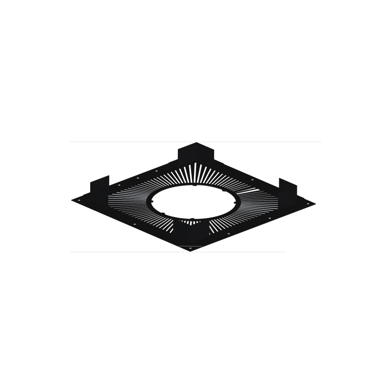 Plaque écart feu ventilée G120 DINAK