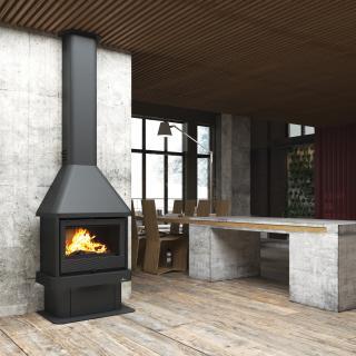 Poêle à bois cheminées - BRONPI Lisboa 11 kW